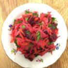 Russischer Salat mit Rote Bete