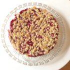 Hafer-Himbeer-Kuchen mit Streuseln