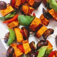 Süßkartoffel-Spieße
